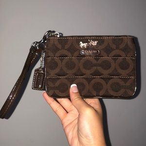 Coach mini purse/wallet